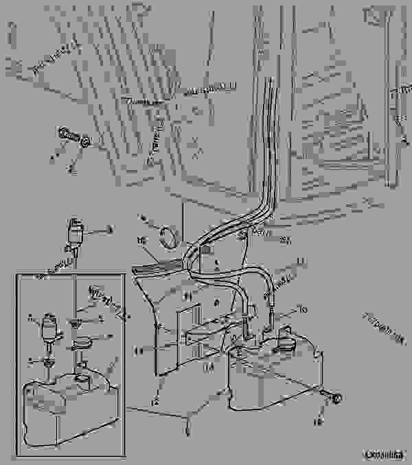 WINDSCREEN WASHER SYSTEM WITH RESERVOIR (WITHOUT R.H. DOOR