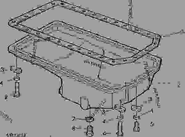 OIL PAN CODE 1903,1906 SHEET METAL, BOTTOM DRAIN [01G09