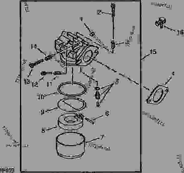Wiring Diagram For John Deere 737 Z Trak John Deere LA175