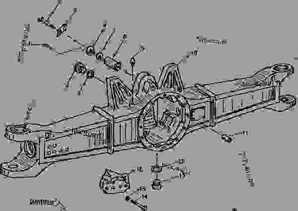 John Deere 4250 Wiring Diagram John Deere Tractor Wiring