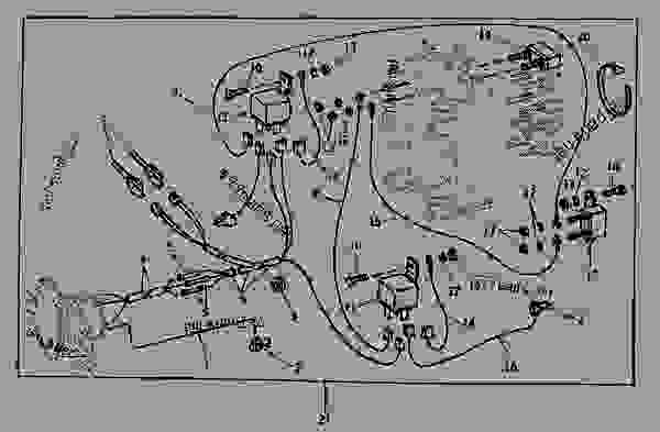 john deere 4440 wiring diagram poulan chainsaw fuel line routing 7-terminal socket supplementary kit [02g23] - tractor 4640 ...