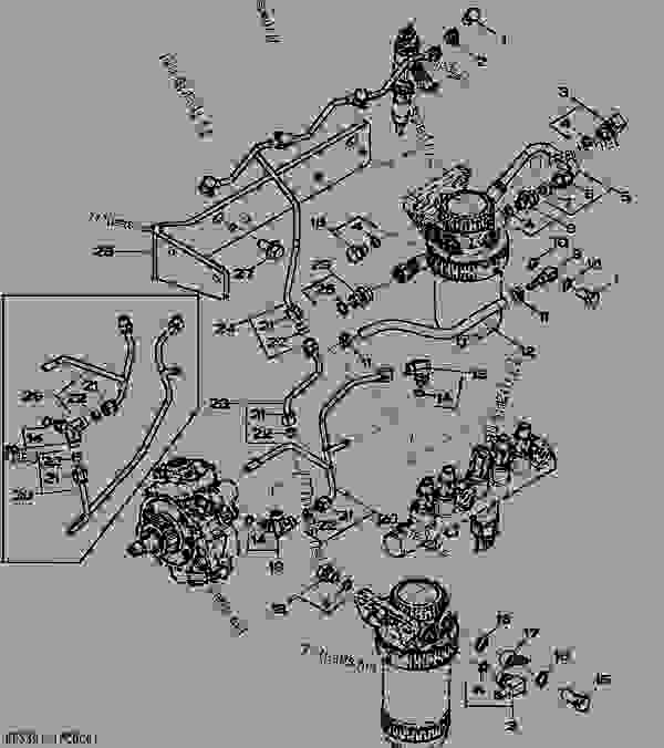 John Deere Fuel System Diagram Within Deere Wiring And