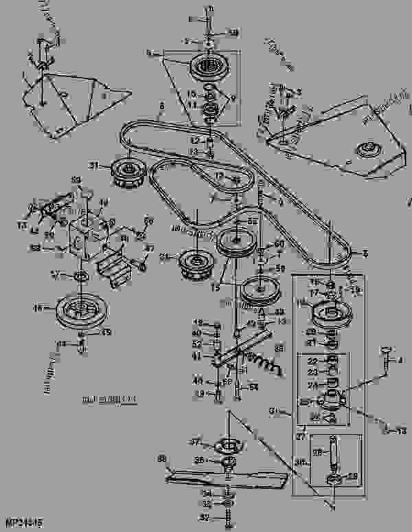 20 Fresh John Deere 60 Inch Mower Deck Belt Diagram