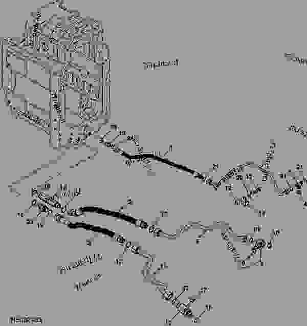 TRANSMISSION LINES (57CC PUMP (3.5 IN3)) (EUROPEAN VERSION