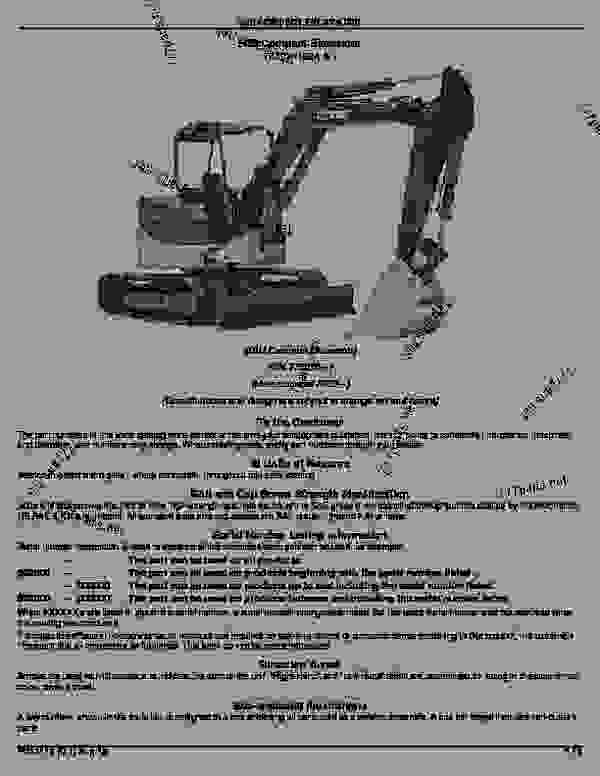 50D Compact Excavator (S.N. 275000- ): Introduction