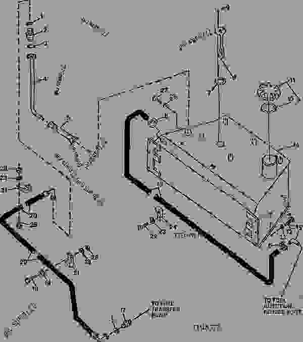 Fuel Tank, Fuel Hoses And Fuel Gauge Sender (850000
