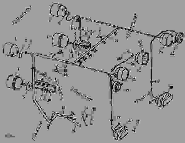 John Deere Solenoid Wiring Diagram 4020 1971 John Deere