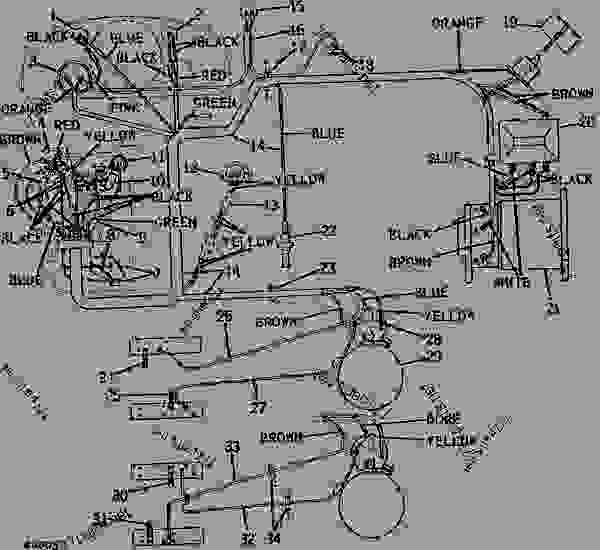 John Deere 3010 Lights Wiring Diagram