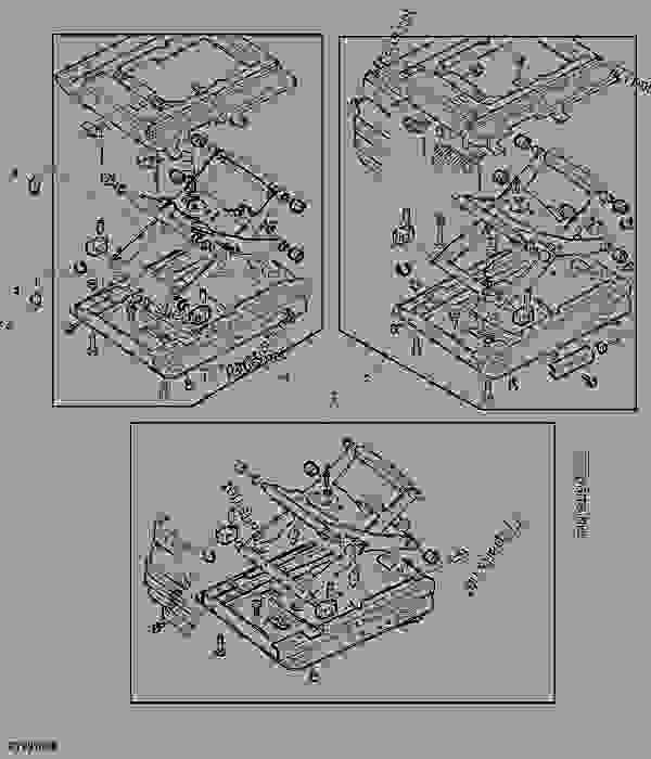 SUSPENSION FOR SUPER COMFORT SEAT MSG95 (AIR SUSPENDED