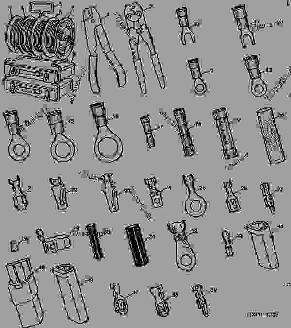 ELECTRICAL TERMINALS,CONNECTORS AND WIRING [01G15