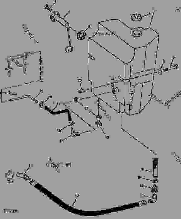 John Deere 310d Backhoe Parts Diagram John Deere 210C