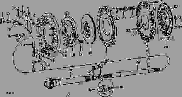 John Deere 4010 24 Volt Wiring Diagram John Deere Tractor