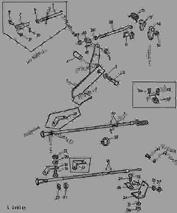 ACCELERATOR PEDAL AND LINKAGE/ENGINE SHUT-OFF CABLE [01D05