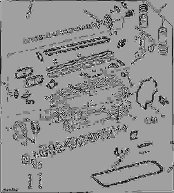 ENGINE OVERHAUL KIT (ENGINE SERIAL NO. 239487- ) [C09