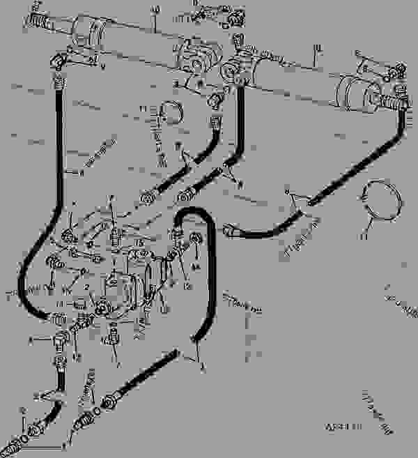 Wiring Diagram John Deere 7000 Planter John Deere A Wiring