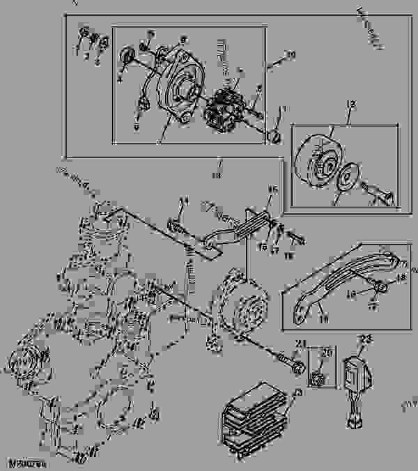 Wiring Diagram For John Deere 1070 - Auto Electrical Wiring ... on