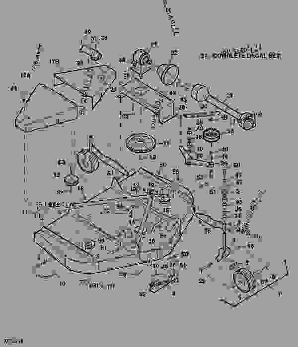 John Deere 272 Grooming Mower Belt Diagram, John, Free
