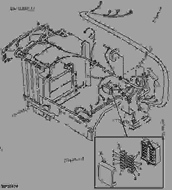 Wiring Diagram For John Deere 870 Tractor John Deere 870