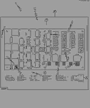 Fuse Panel and Relay Board (  22913)  ENGINE, POWERTECH
