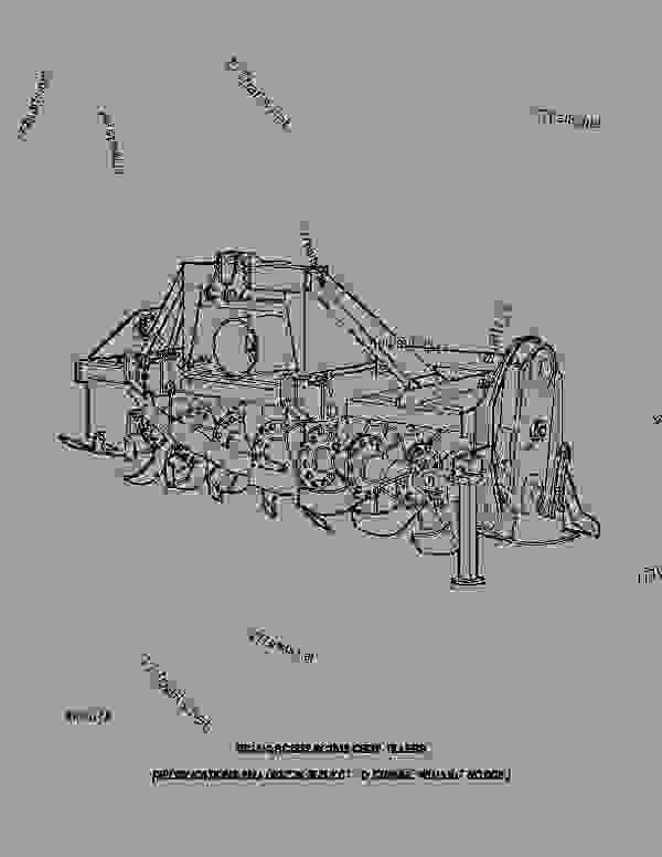 RC1310, RC1312, RC1313 Row Crop Tillers (Frontier