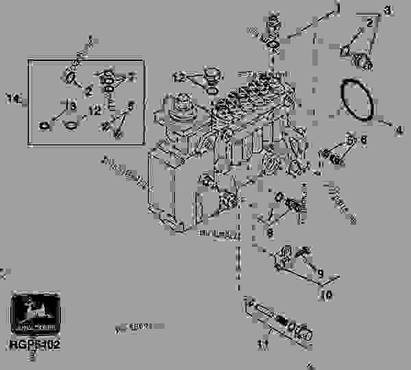 FUEL INJECTION PUMP HOUSING CONNECTORS (MOTORPAL)(7710
