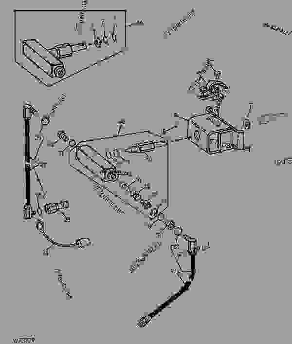CONTROL VALVE (CLOSED CENTER HYDRAULIC SYSTEM) (VALVE