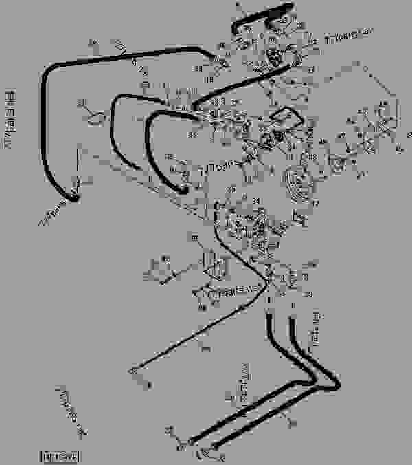 CHOPPER/SPREADER HYDRAULIC HOSES, FITTING, BEATER MOTOR
