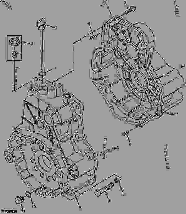 John Deere Gator Tx 4x2 2007 Parts
