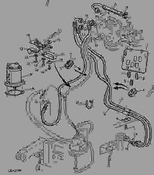 John Deere 310 Backhoe Wiring Diagram John Deere 3020