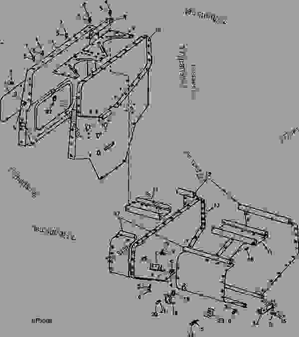 END PANELS AND GRAIN BOX SHEETS (8300 SERIES) [B05