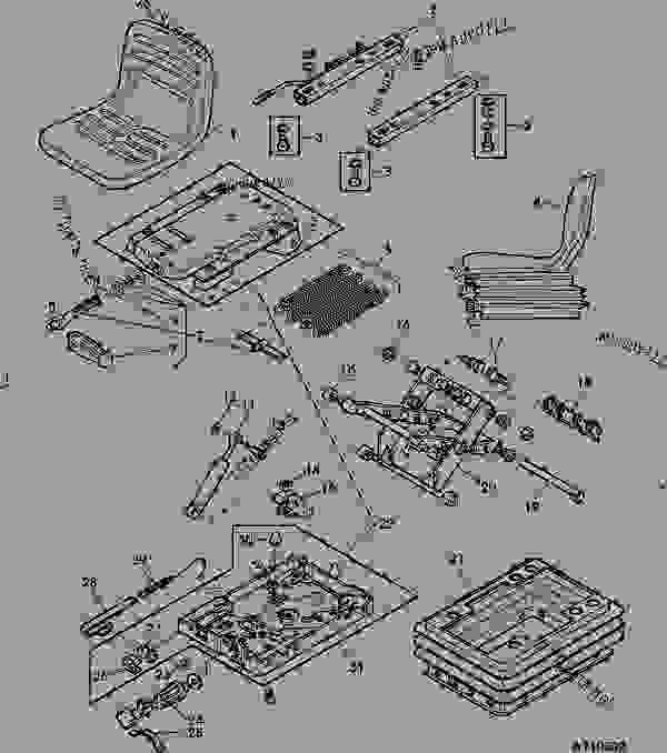 John Deere Seat Diagram, John, Free Engine Image For User