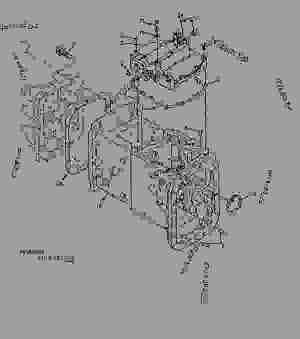 TRANSMISSION HOUSING (PY008)  TRACTOR John Deere 5425