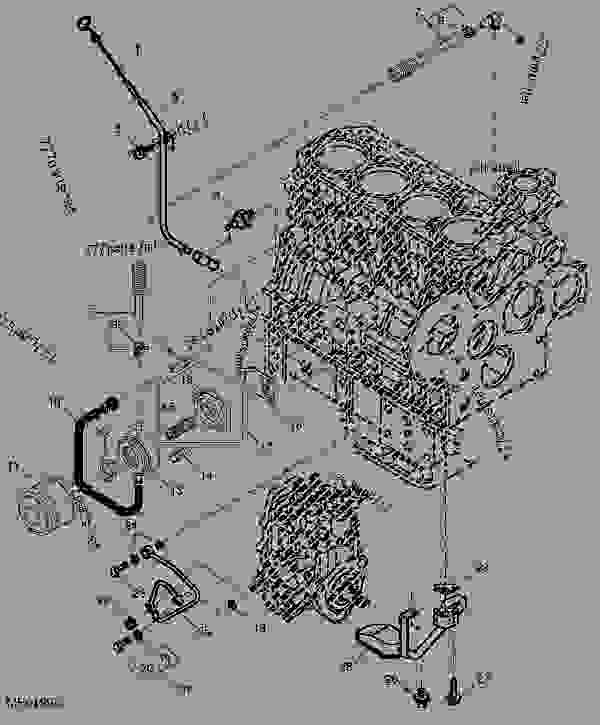 Engine Oil Cooler, Filter And Dipstick (4TNV88-MJTLB