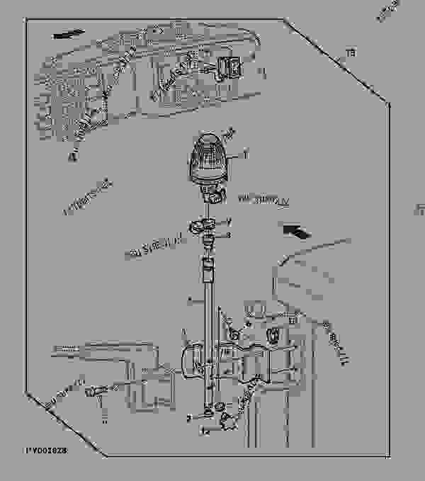 Wiring Diagram For 6430 John Deere Air Conditioning : 51