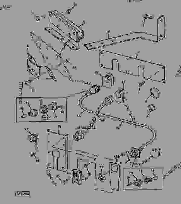 Planter & Computer TRAK Extension Harness & Brackets/4WD