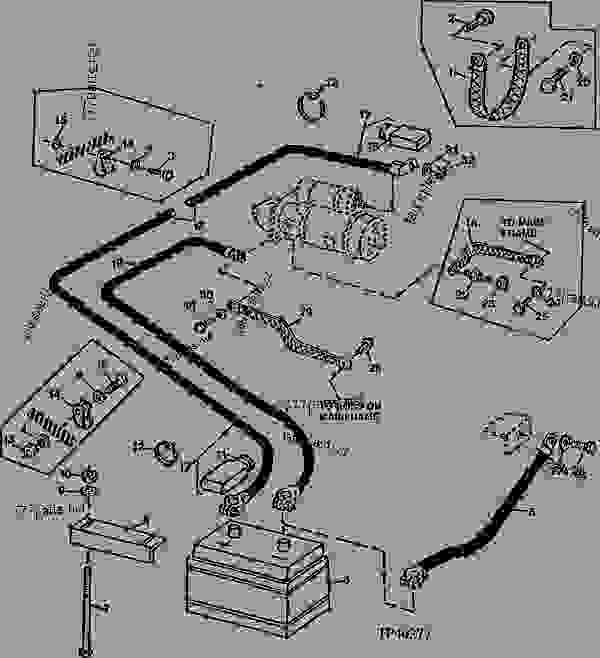 Wiring Diagram For 300d John Deere Backhoe John Deere 300