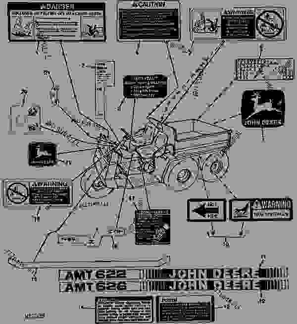 Wiring Diagram For A John Deere Amt 622 : 39 Wiring
