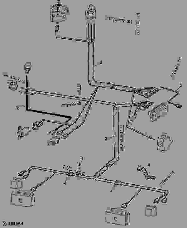 JOHN DEERE 955 WIRING HARNESS - Auto Electrical Wiring Diagram on