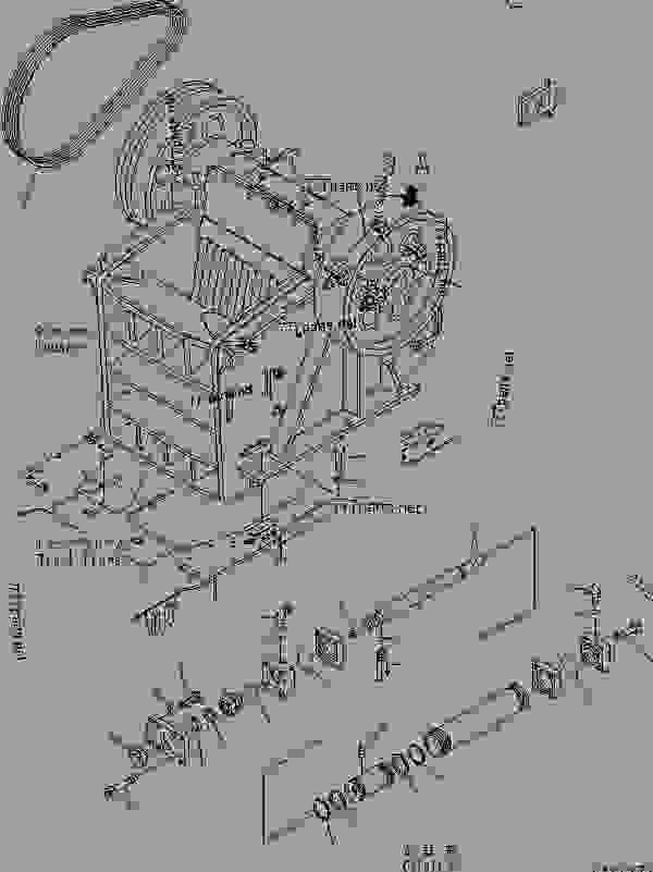 electrical plug x and y plot diagram terms jaw crusher - mobile debris komatsu br550jg-1 work equipment | 777parts
