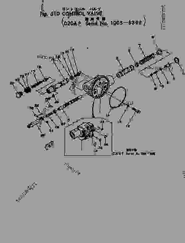 07003-01419 GASKET,(FOR HD325-6) (SEE FIG.A7010
