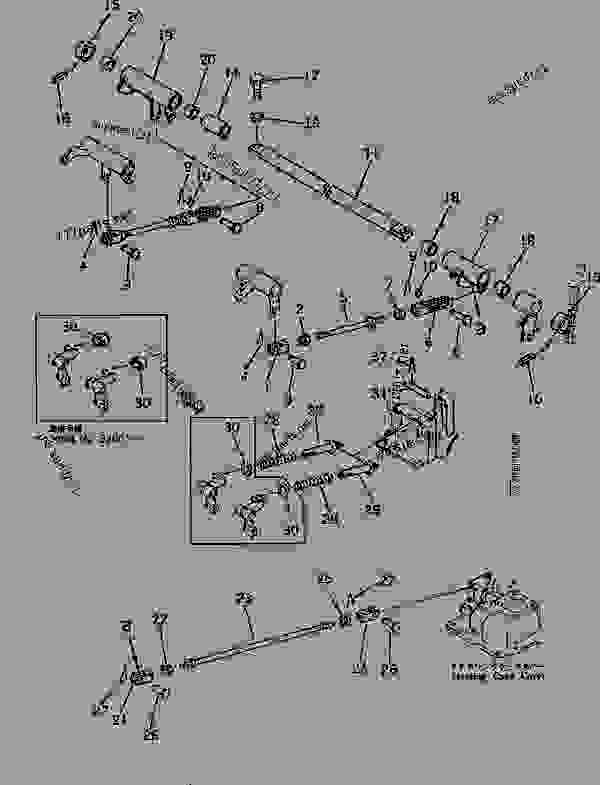 STEERING CONTROL LINKAGE (2/2) (FOR LEVER STEERING