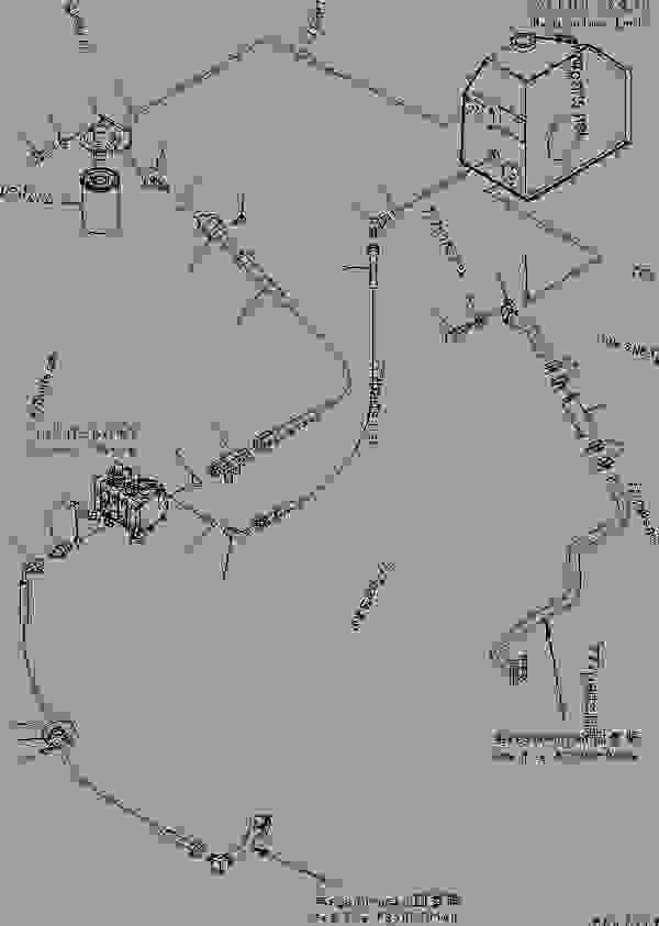 HYDRAULIC PUMP LINE (HYDRAULIC PUMP AND VALVE LINE