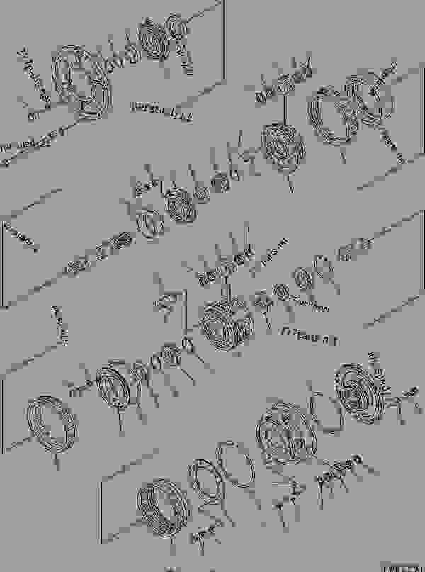 TRANSMISSION (3/5)? CARRIER (SUPER DOZER)(#10012