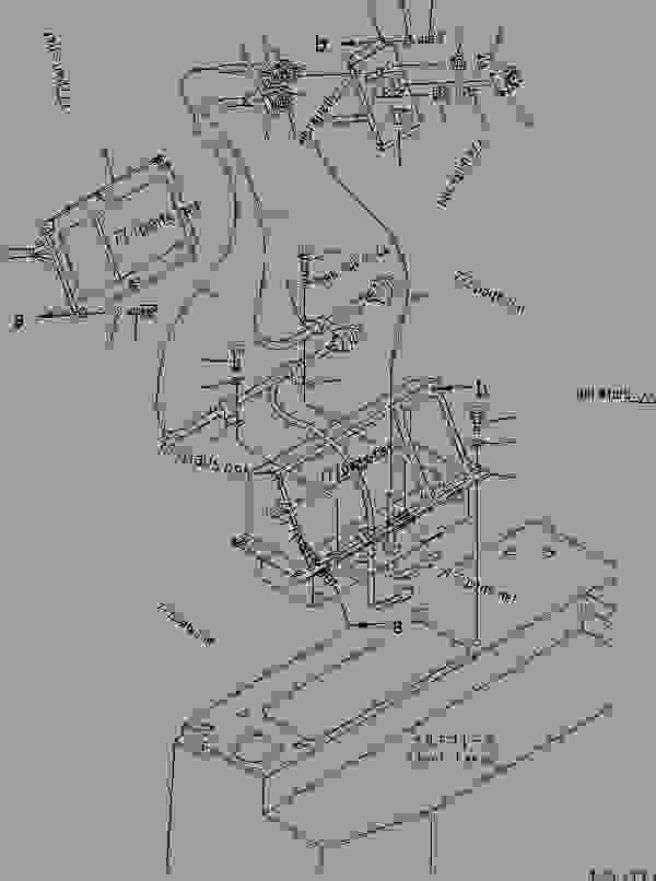 FLOOR FRAME MONITOR PANEL (FOR SUPER DOZER)(#10105