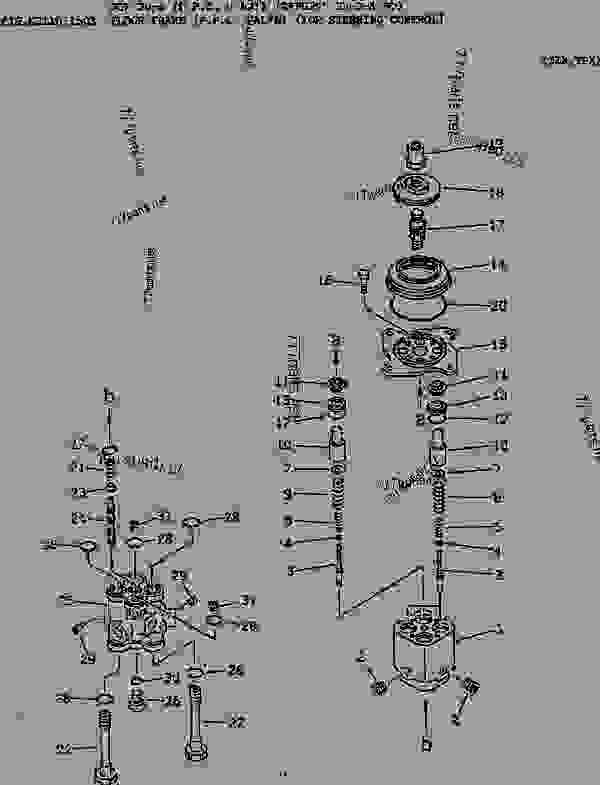 FLOOR FRAME (P.P.C. VALVE) (FOR STEERING CONTROL