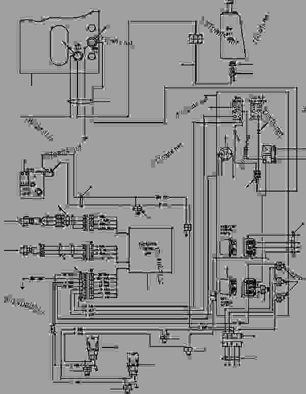 komatsu pc200 electrical diagram