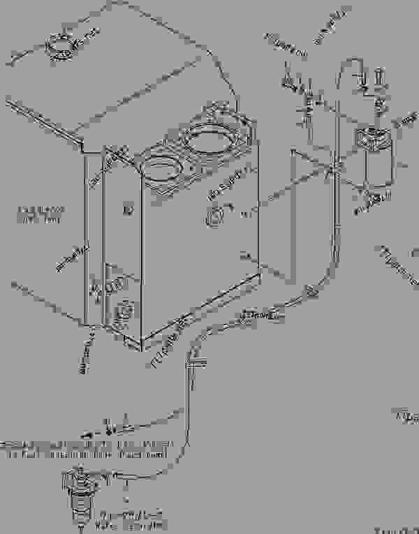 (600-311-9101) FUEL FILTER ASS'Y,(SEE FIG.A4150-B2A4A