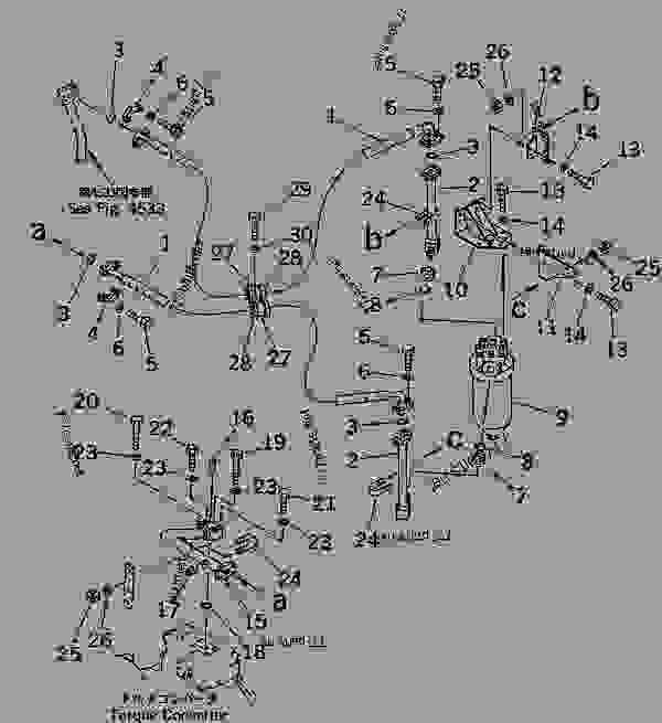 TORQFLOW PIPING (OIL FILTER TO TORQUE CONVERTER VALVE