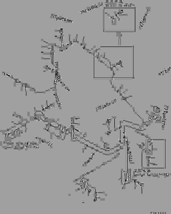 TRANSMISSION PIPING (3/3) (TRANSMISSION OIL FILLER)(#4407