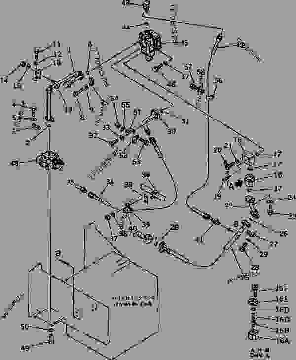 HYDRAULIC PIPING (2/3) (HOIST VALVE TO HYDRAULIC TANK